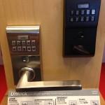 keypad lock for entry